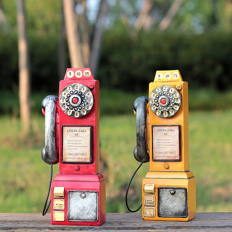 Old fashioned wall mounted telephones 7