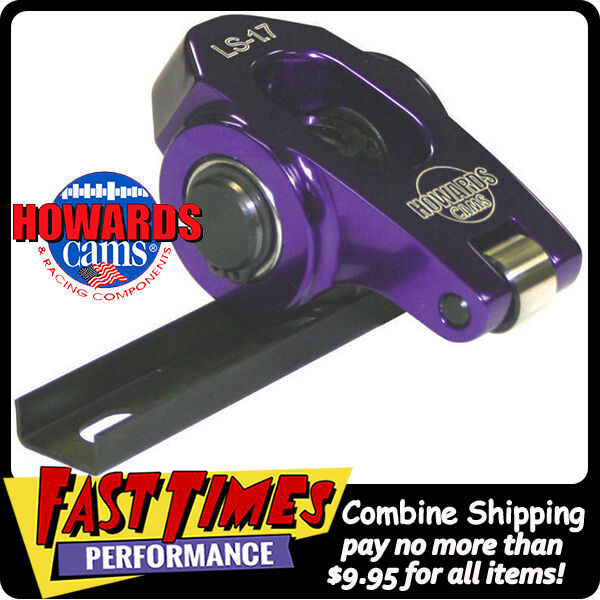 HOWARD'S Chevy GM LS LS1 Cathedral Port Aluminum Roller