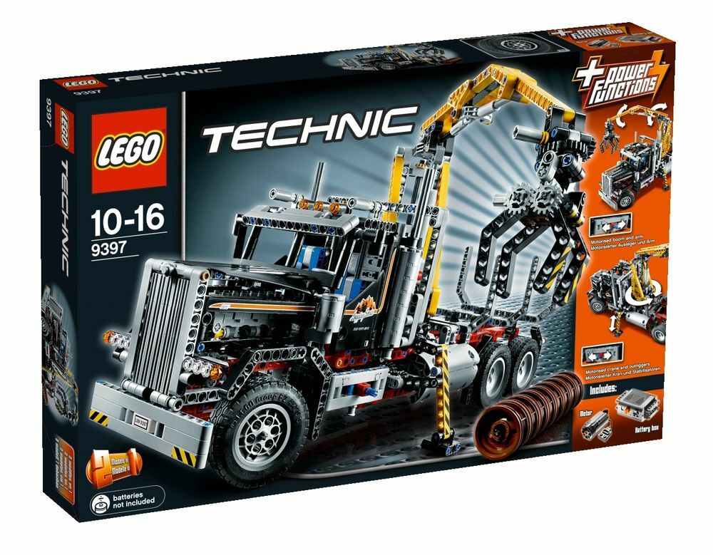 lego technic 9397 holztransporter lkw lastkraftwagem. Black Bedroom Furniture Sets. Home Design Ideas