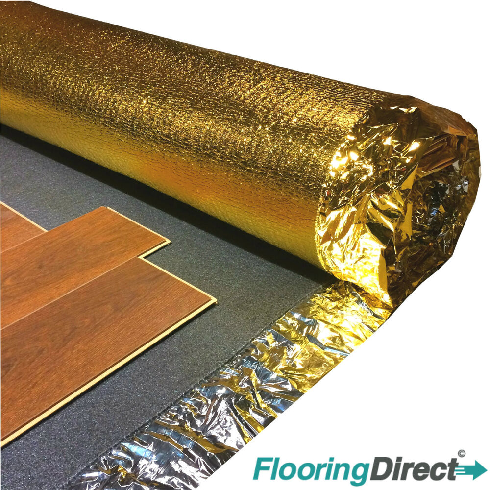 5mm sonic gold underlay wood laminate flooring for Wood floor underlay 5mm