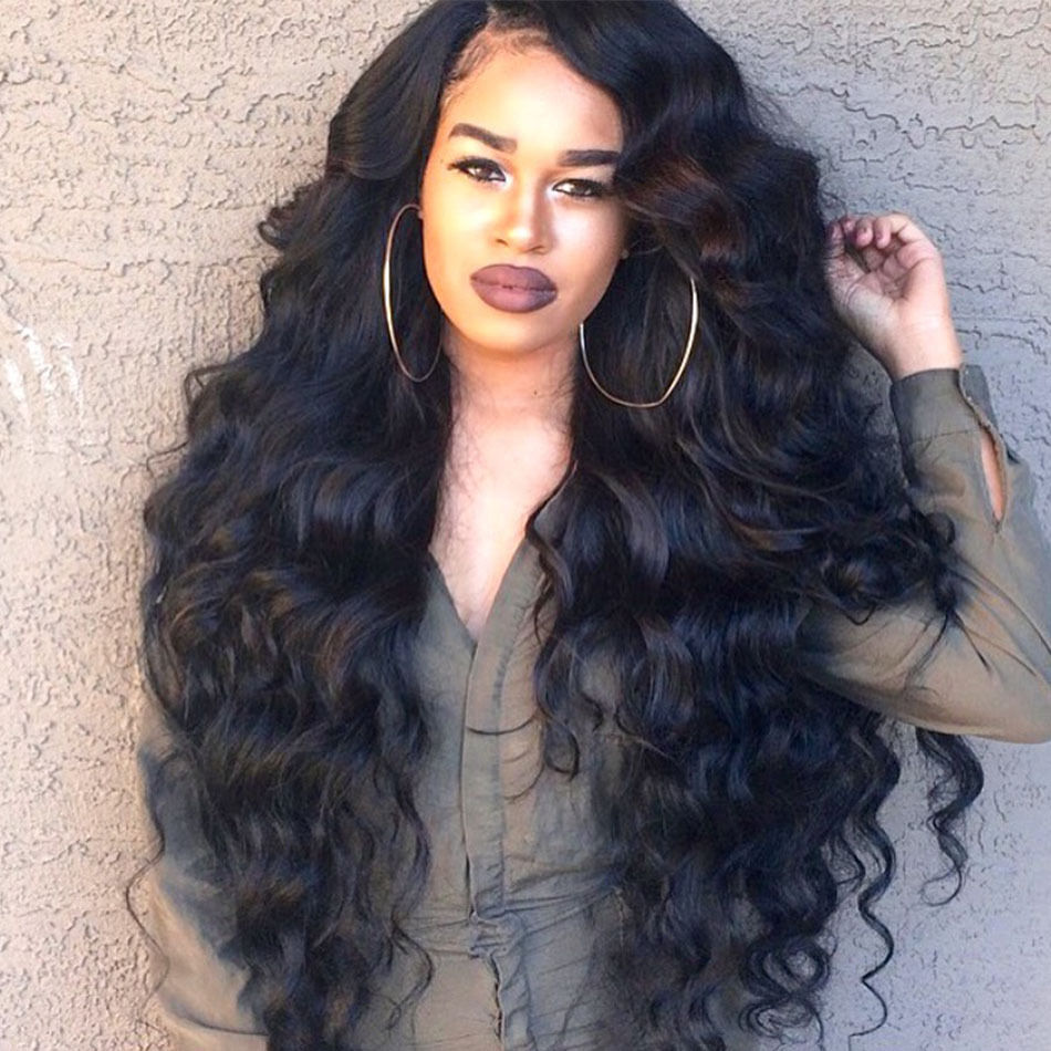 how to style brazilian body wave hair 180 density lace wig human hair 2334 | s l1000