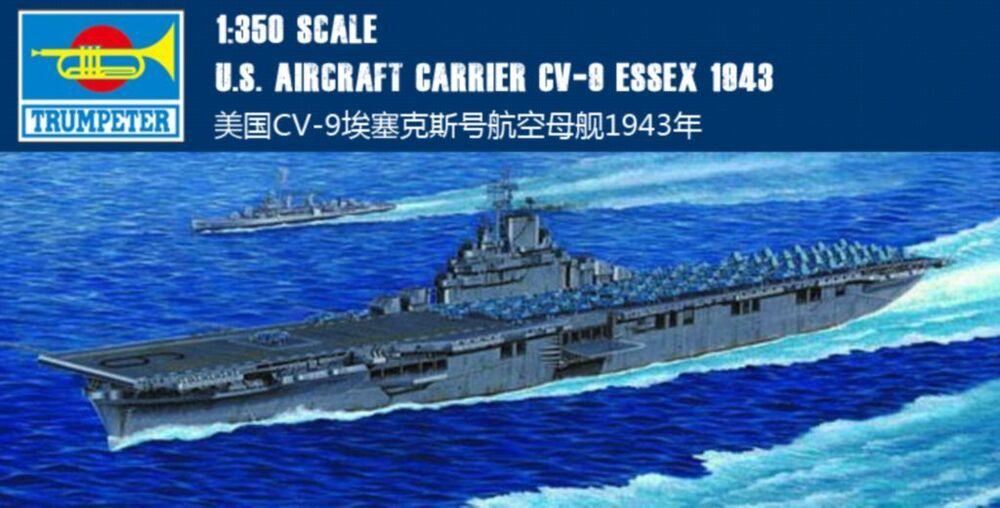 trumpeter 1  350 05602 u s  aircraft carrier cv