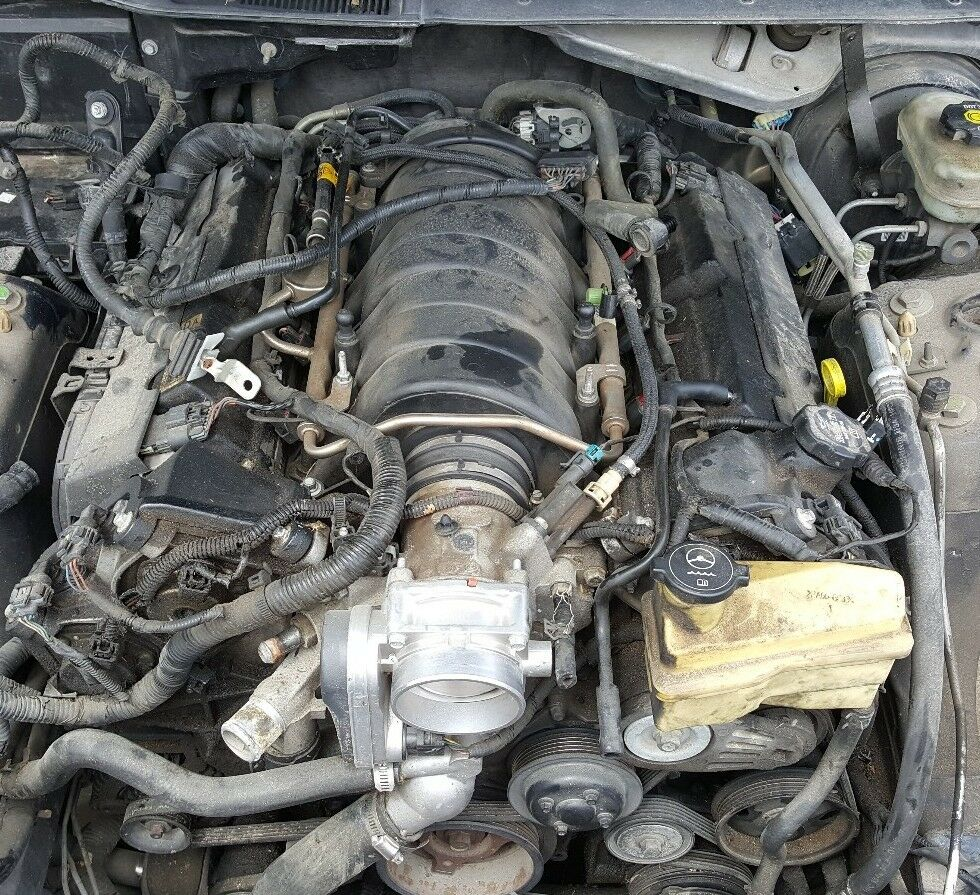 2005 2006 2007 2008 Cadillac Sts North Star V8 Engine