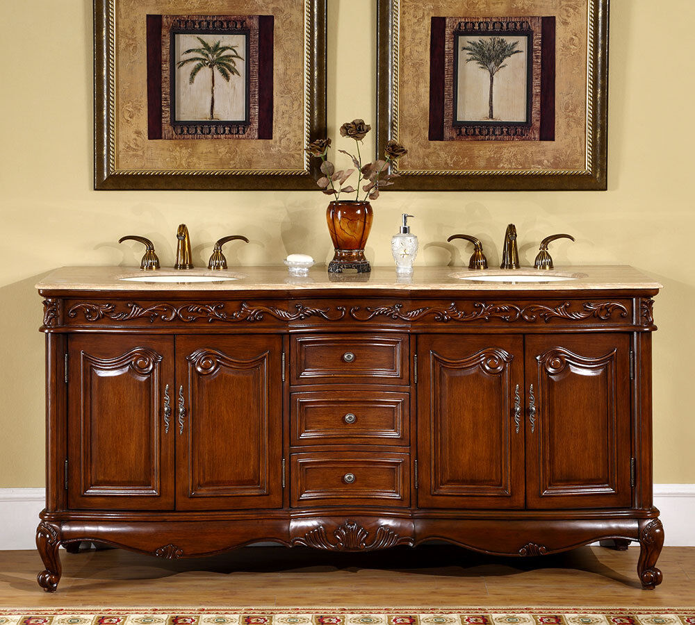 72 inch double sink bathroom vanities 72 inch travertine top bath cabinet bathroom 24805
