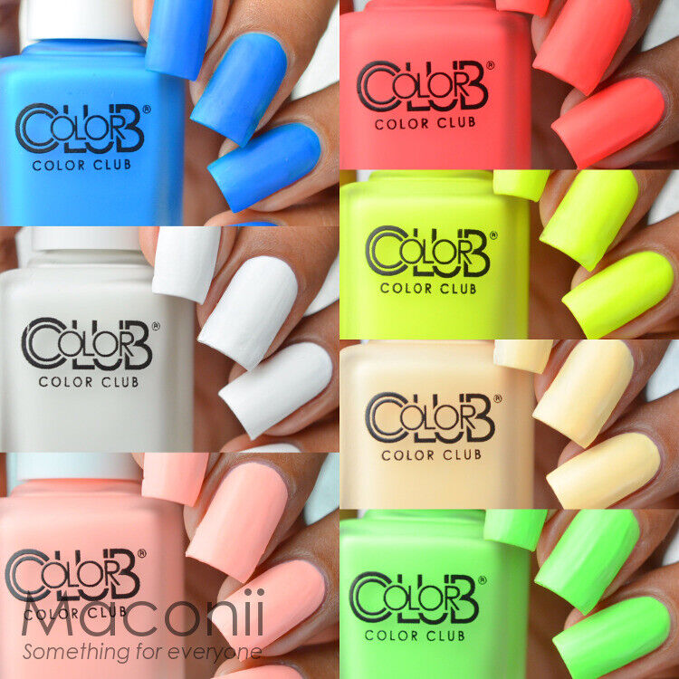Who Sells Color Club Nail Polish: Pop Chalk Collection