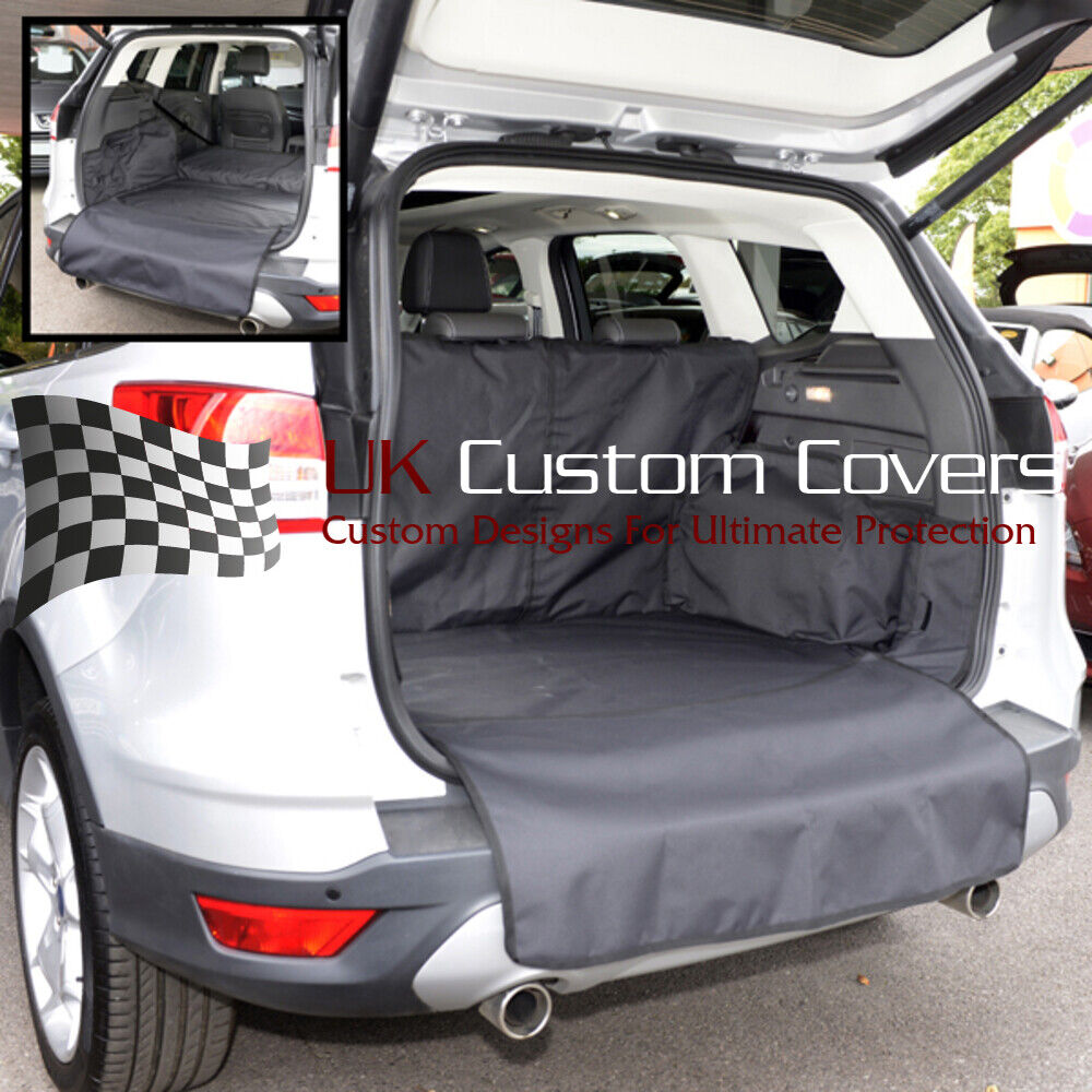 ford kuga tapis de coffre sur mesure protection chien 2013 a partir 170 ebay. Black Bedroom Furniture Sets. Home Design Ideas