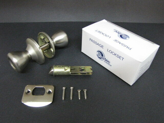 Mobile Home Door Knob Stainless Brushed Interior Handle