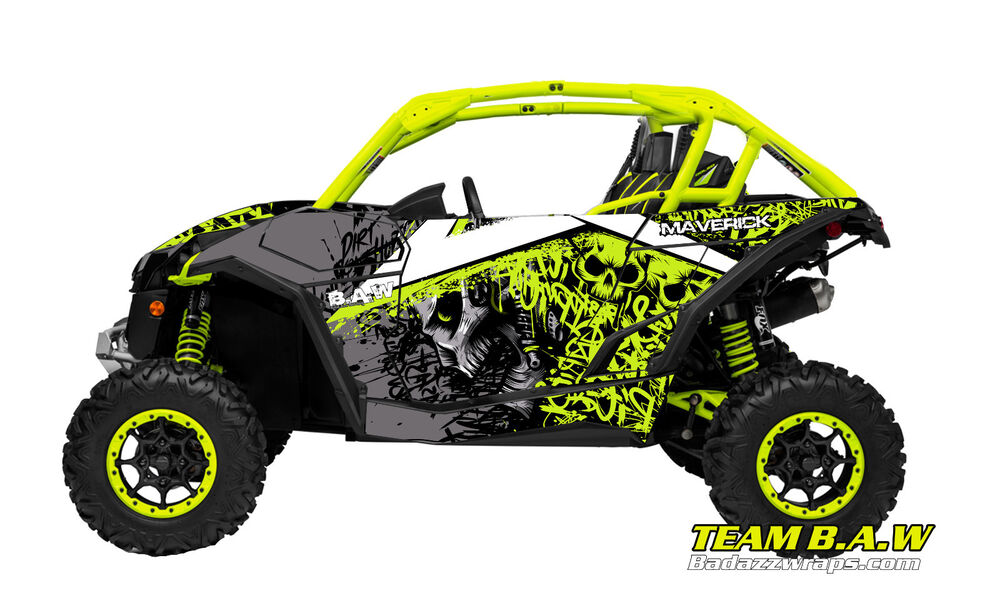 Can Am Maverick Mxvec 013 Design Decal Graphic Kit Wraps