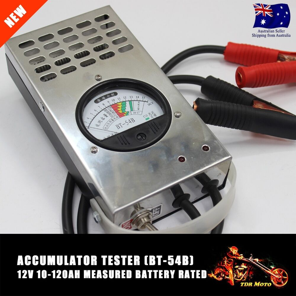 Car Battery Voltage Meter : V car motorcycle battery charging tester amp