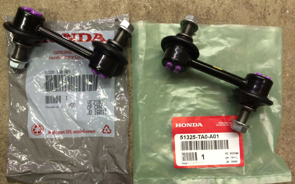 Genuine Oem Honda Accord Front Sway Bar End Link Kit With