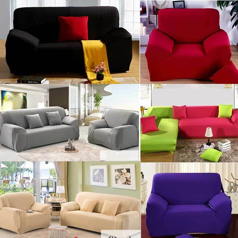 Home Chair Loveseat Sofa Cover Stretch Elastic Slipcover