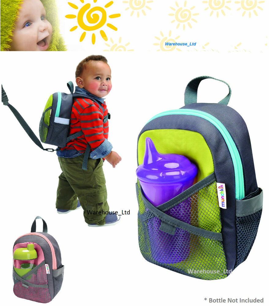 Munchkin Travel Child Safety Harness Backpack Toddler Back