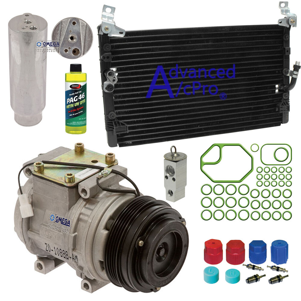 Turbo Kit Tacoma 4 0: A/C AC Compressor Kit Fits: 1995 1996 1997 Toyota Tacoma