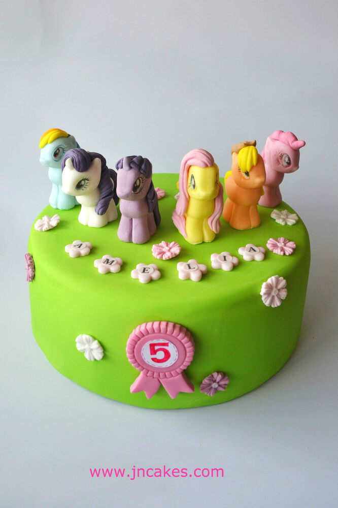 Edible Cake Pictures Uk : MY LITTLE PONY cake toppers edible sugar paste ...
