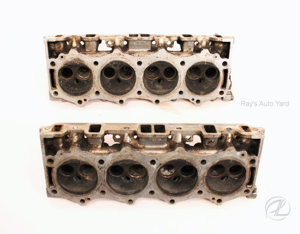 Cylinder Heads Buick 215 Aluminum Bare Heads No Valves Or Springs Need Rebuilt Ebay
