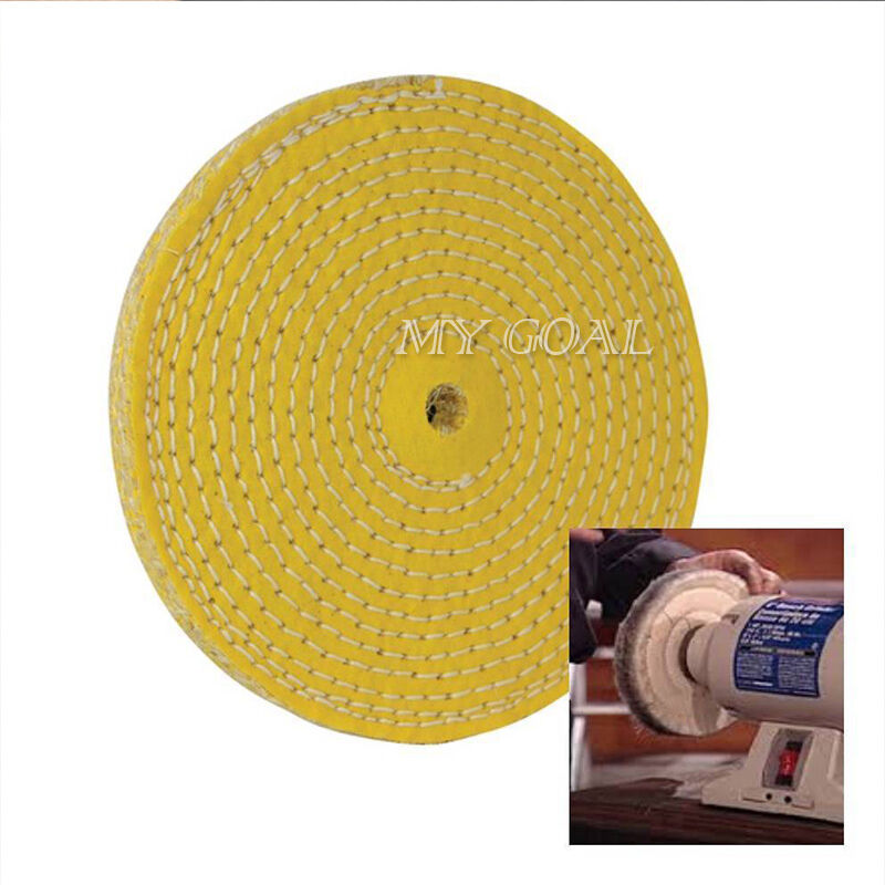 Sisal Hard Buffing Polishing Wheel 150 Mm 6 Weld Grind