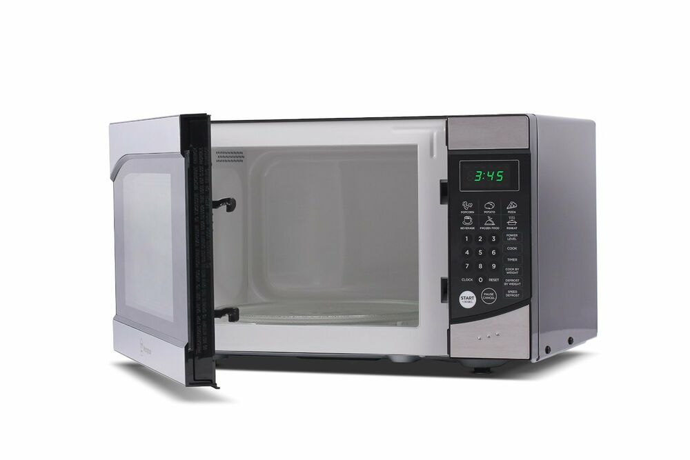 Countertop Microwave Black Stainless : ... COUNTERTOP MICROWAVE OVEN, Electric Stainless Steel MICROWAVE,Black