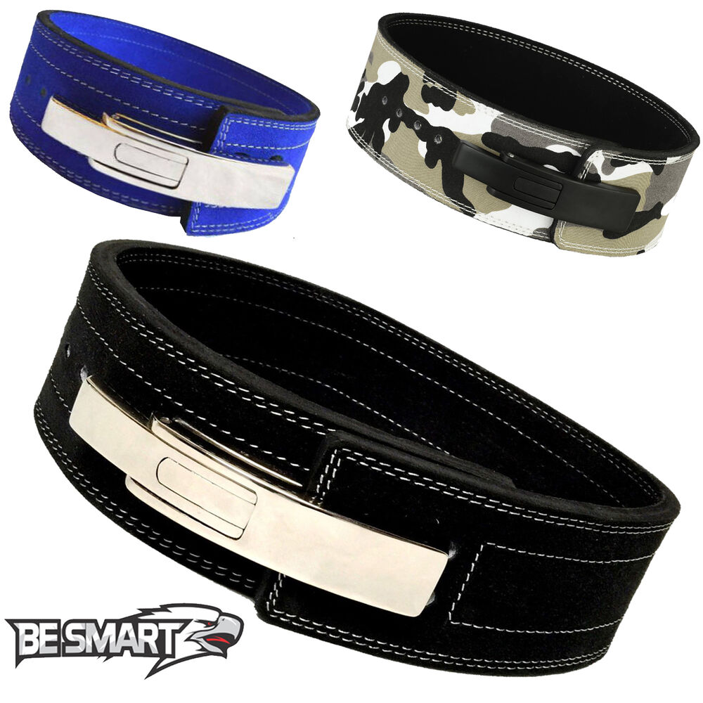 Belt Lifts: Weight Power Lifting Leather Lever Pro Belt Gym Training