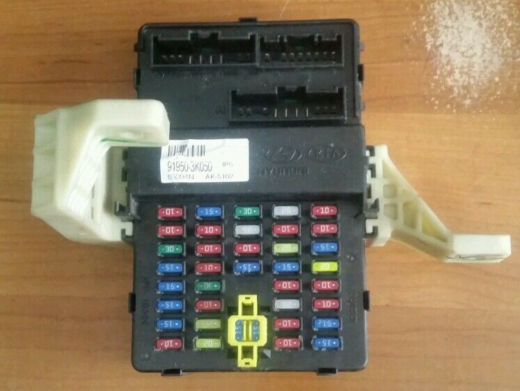 2006 2007 Hyundai Sonata Fuse Box Block Relay Junction