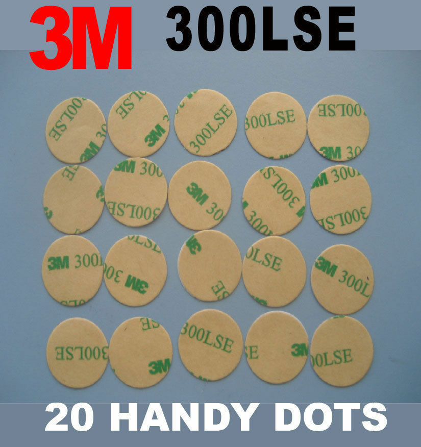 20 Pcs Of 3m 300lse Heavy Dudy Double Sided Dots High