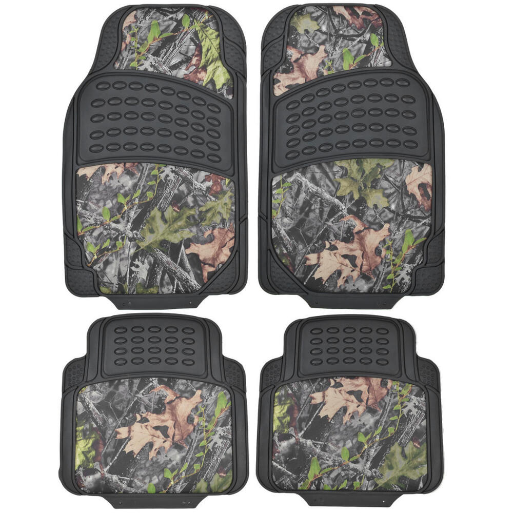 Camouflage Rubber Camo Floor Mats All Types Of Weather