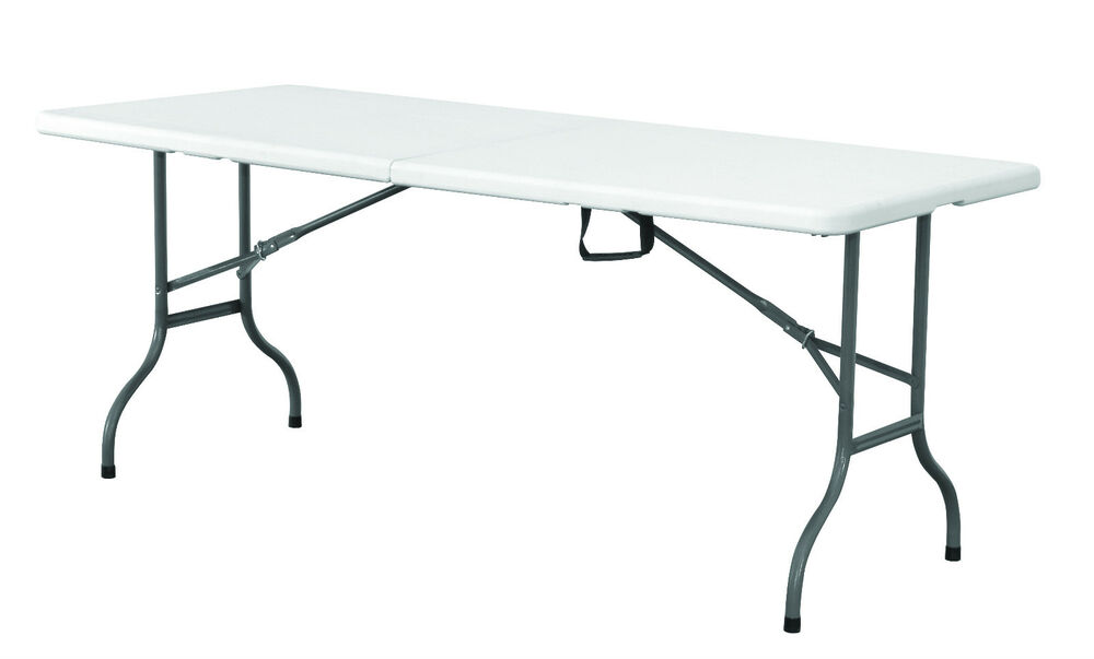 5ft folding plastic table with carry handle free express for Table weldom