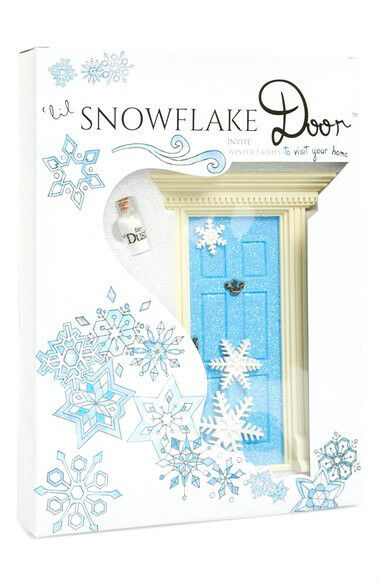 New lil fairy 39 lil snowflake 39 sparkly blue fairy door w for Lil fairy door sale