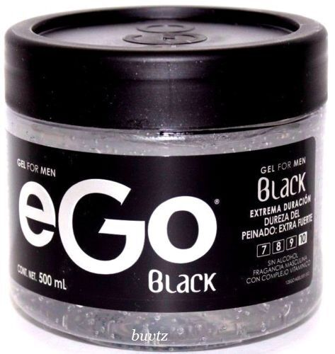 black hair styling gel hair gel for ego black 17 6 oz 500ml fragrance 8313