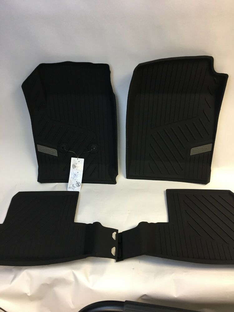 15 17 Colorado Ext Cab Weather Tech Style Floor Liner Package Front Rear Black Ebay
