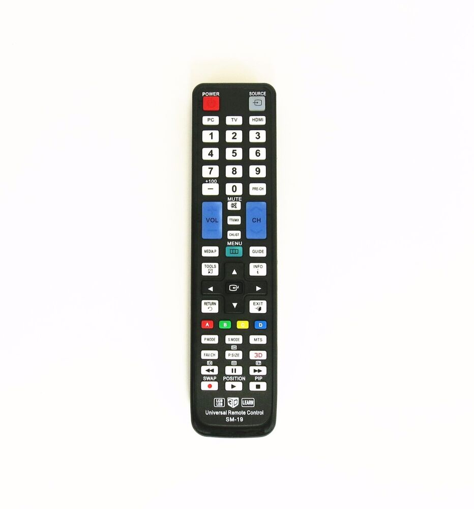 samsung universal remote control for almost all samsung tv bn59 00996 997 etc ebay. Black Bedroom Furniture Sets. Home Design Ideas