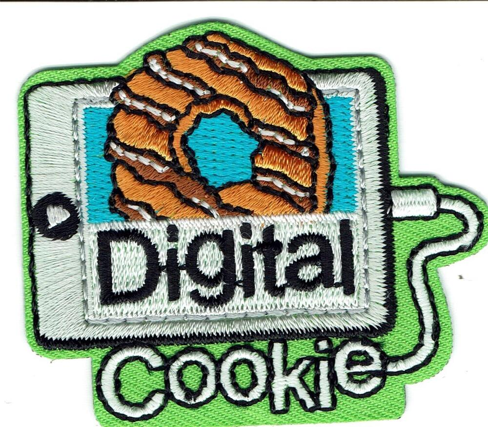 girl digital cookie sale cookies fun patches crest badge