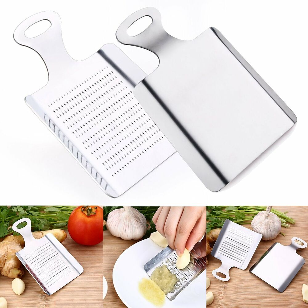 Ginger Wasabi Garlic Grater Shredder Grinder Stainless ...