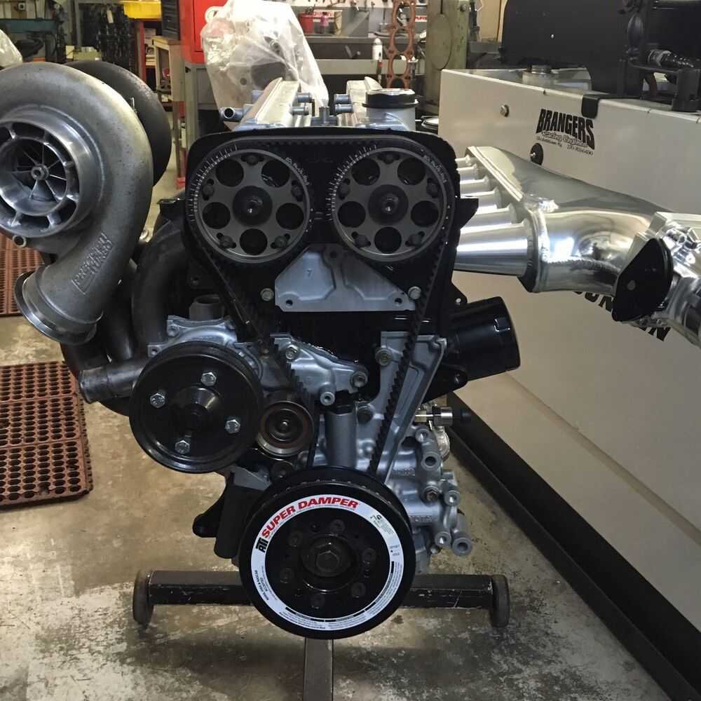 1200 HP Street/Strip Turnkey Engine Toyota