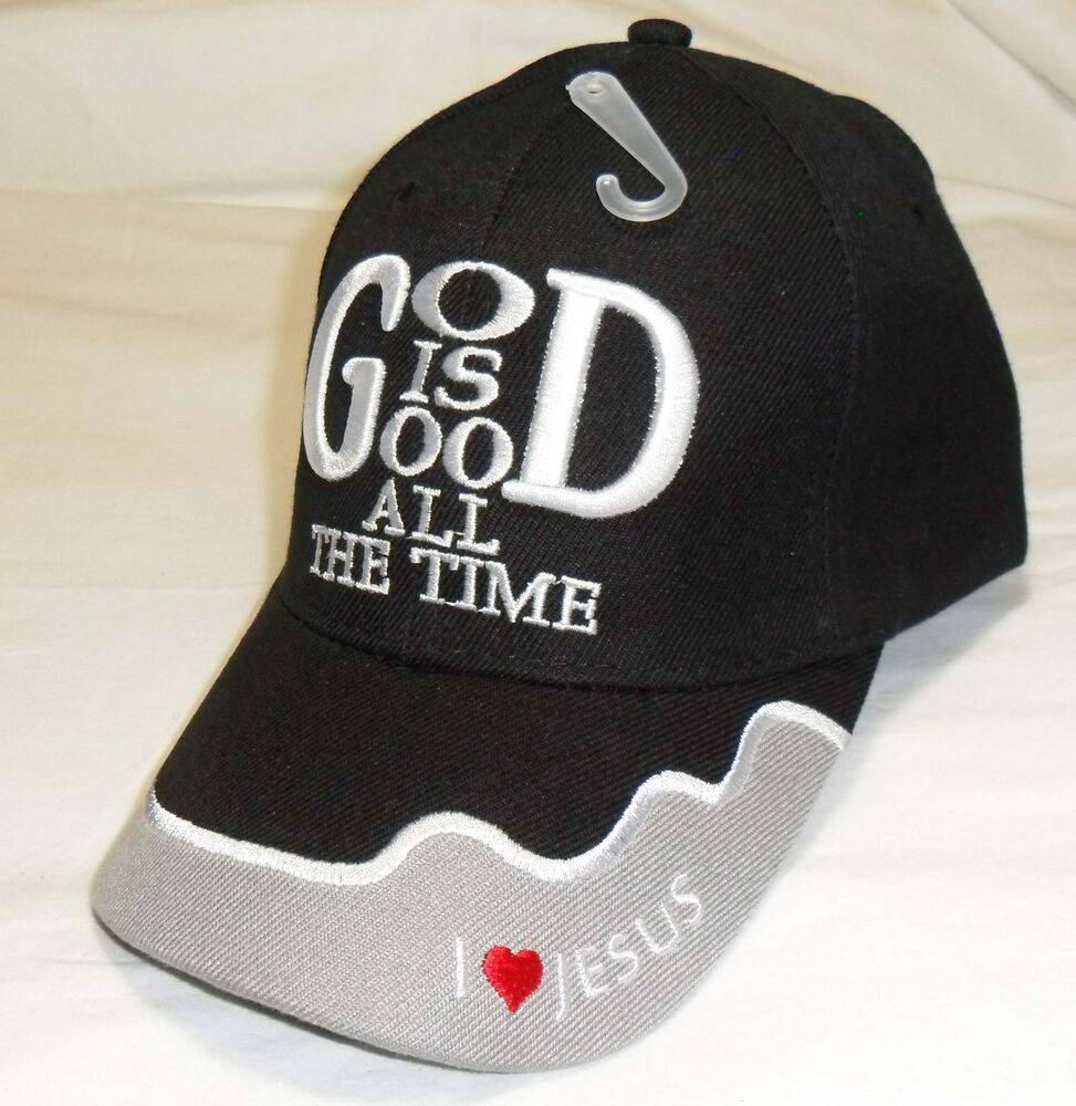 god is good all the time christian hat baseball cap show your faith cheap caps embroidered mens