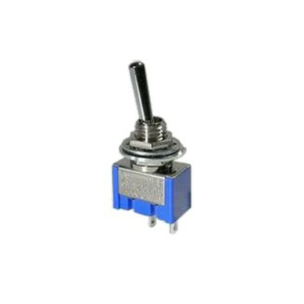On Off Miniature Toggle Switch Spst Mini For Model Railway