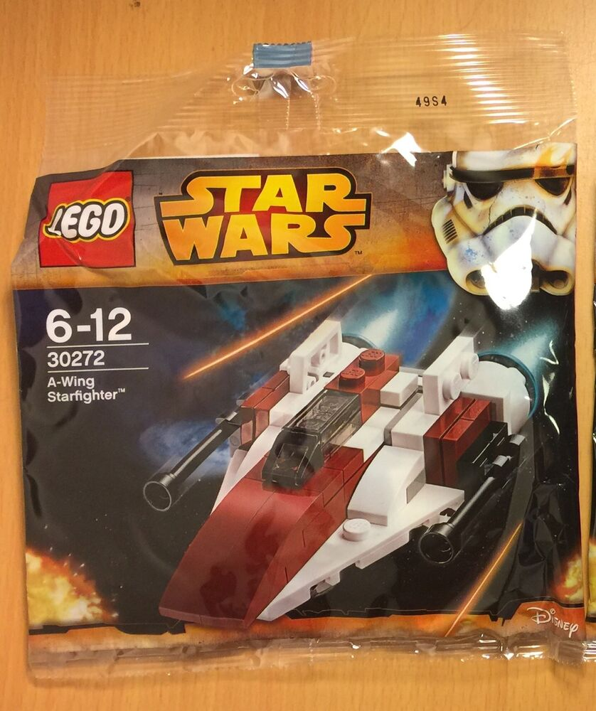 Star Wars Rebellion G Wing 3 4 View: Lego New Star Wars 30272 A-Wing Starfighter X1 Poly Bag