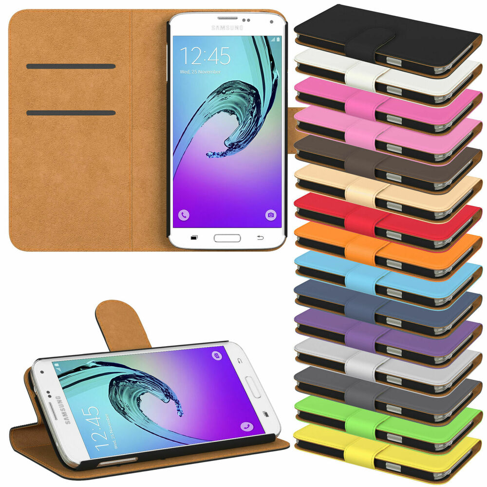 handy tasche f r samsung galaxy flip cover case schutz h lle etui schale wallet ebay. Black Bedroom Furniture Sets. Home Design Ideas