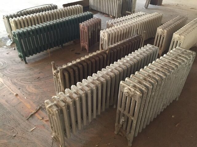 Century Tractor Parts : Old vintage cast iron steam radiators each obo ebay