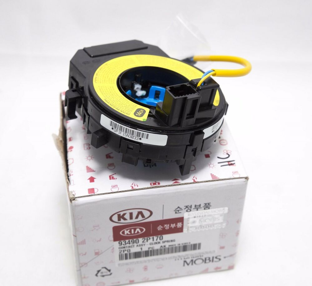 Kia Soul Accessories >> Genuine Parts Clock Spring Contact assembly 934902P170 for ...