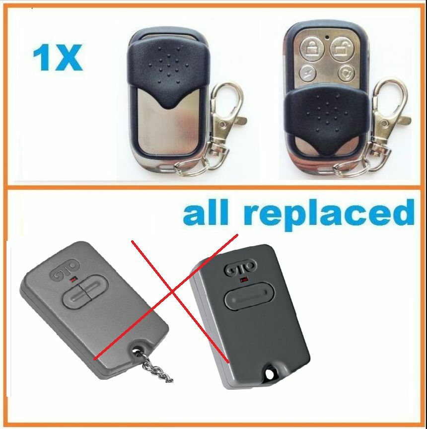 Gate Remote Control For Mighty Mule Single Button Gate