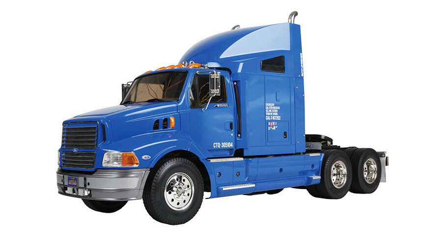 Semi Truck That S Also A Toy Car Holder : Tamiya scale rc car ford aeromax speed