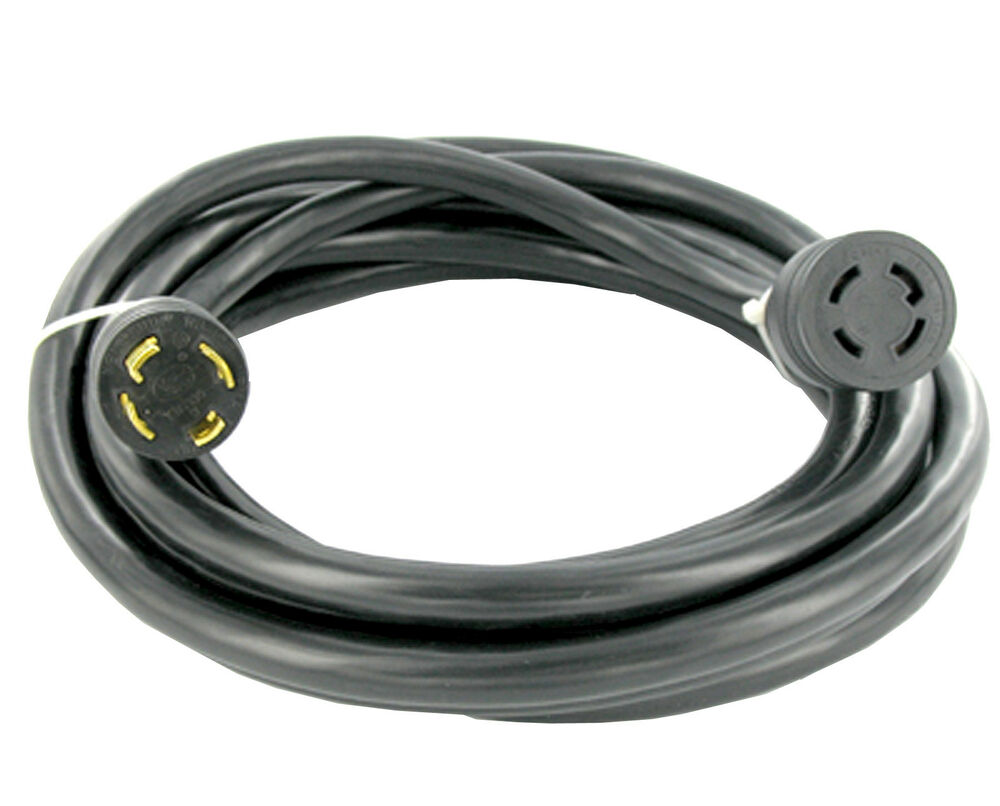 30 Amp 20 Ft Nema L14 30 4 Wire 10 Gauge 125 250v