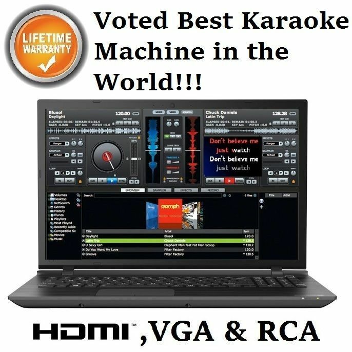 Best Karaoke Machine Karaoke Computer Laptop Professional ...