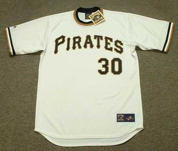1af6540270f DAVE CASH Pittsburgh Pirates 1971 Majestic Cooperstown Home Baseball Jersey