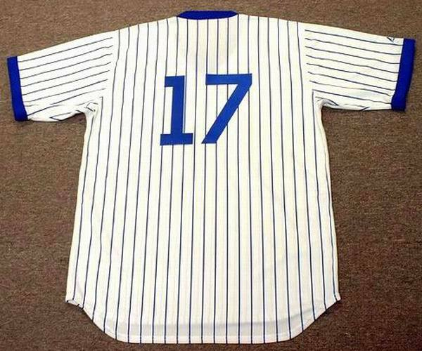 05e6018d5 MARK GRACE Chicago Cubs 1988 Majestic Cooperstown Throwback Home Baseball  Jersey