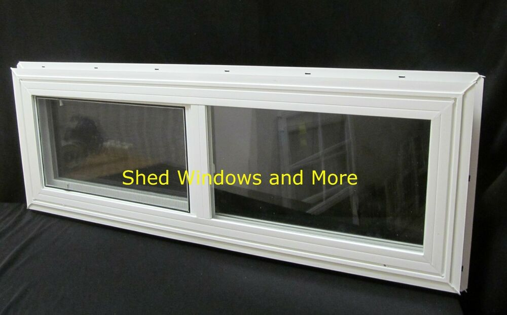 Double pane horizontal 36 x12 window vinyl moble homes for 18 x 24 vinyl window