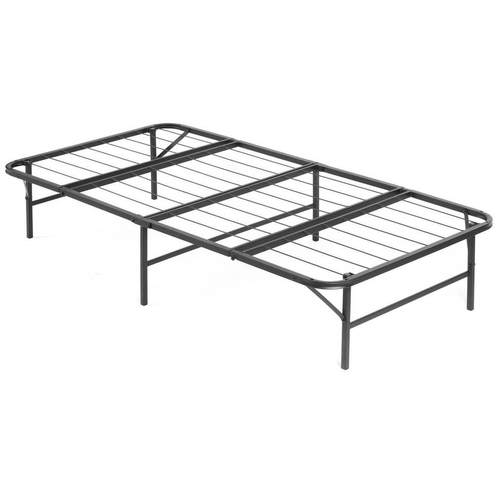 Twin Xl Steel Mattress Platform Bed Frame Base Raised