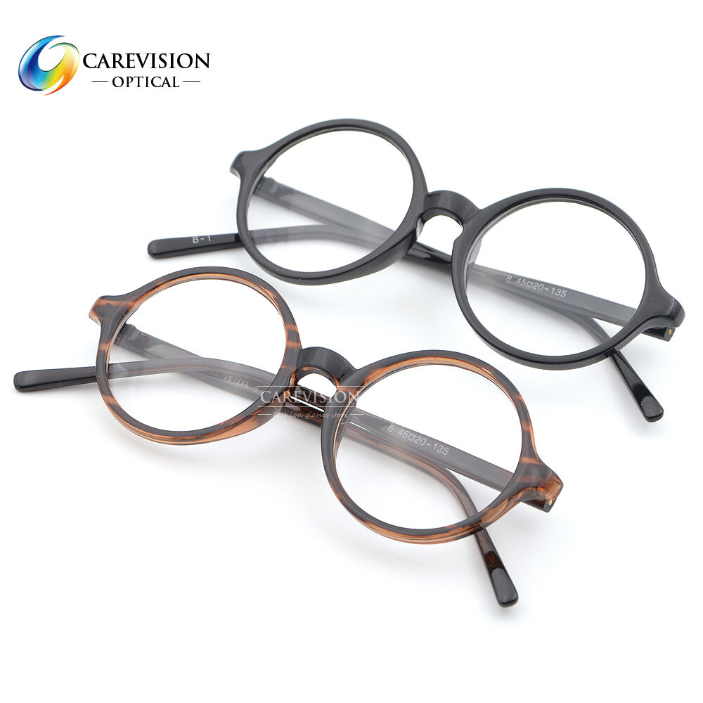 Glasses By Frame Width : 43,45,47,50 mm Lens Width Size Round Myopia Glasses ...