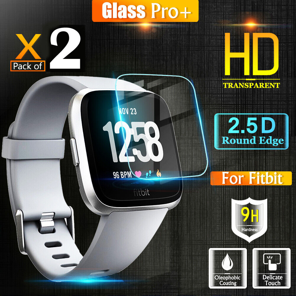 Fitbit Versa Smart Watch Tempered Glass Screen Protector