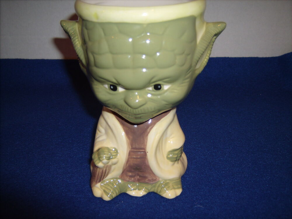Yoda Star Wars 10 Oz Ceramic Goblet 5 3 4 Quot Tall Ebay